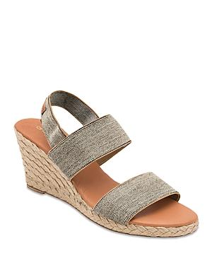Women's Allison Strappy Espadrille Wedge Sandals