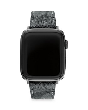 COACH - Apple Watch© Signature Canvas Strap, 42mm & 44mm