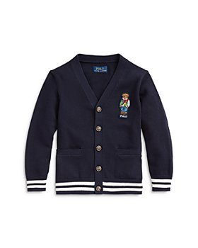 Ralph Lauren - Boys' Bear Cardigan Sweater - Little Kid