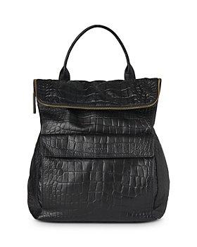 Whistles - Verity Croc Embossed Backpack