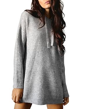 Lila Hooded Tunic Sweater