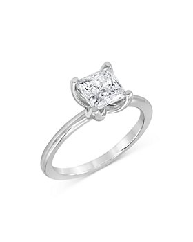 Bloomingdale's - Princess Cut Diamond Engagement Ring in 14K White Gold, 1.5 ct. t.w. - 100% Exclusive