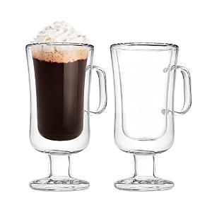 Godinger Double Walled Irish Coffee Mug, Set of 2