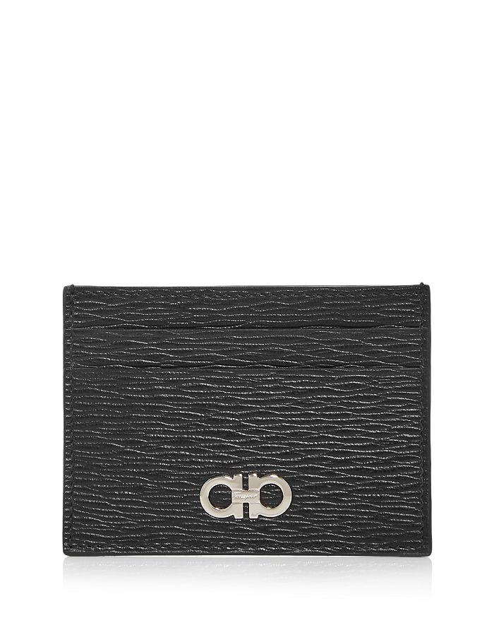 Salvatore Ferragamo - Revival Leather Money Clip Card Case
