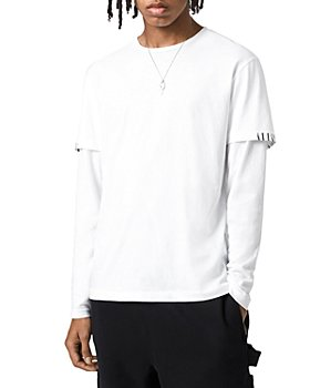 ALLSAINTS - Haven Layered Sleeve Logo Tee
