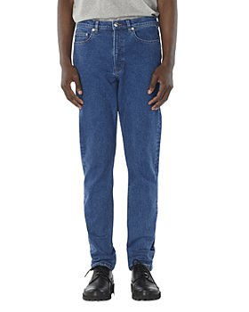 A.P.C. - Middle Standard Relaxed Fit Jeans in Washed Indigo