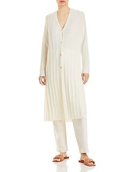 Theory - Ribbed Duster Cardigan