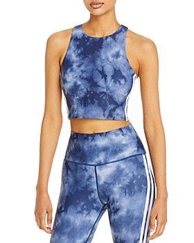 AQUA - Tie Dyed Sports Bra