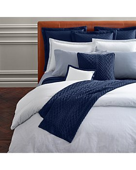 Ralph Lauren - Organic Tattersal Bedding Collection