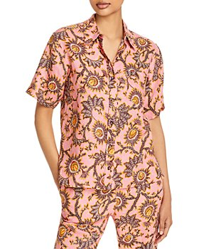 A.L.C. - Sterling Printed Blouse
