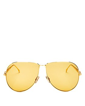 Fendi - Women's Aviator Sunglasses, 63mm