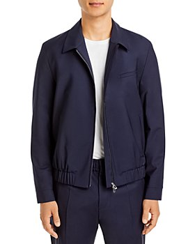 HUGO - Hellis Tailored Zip Bomber Jacket