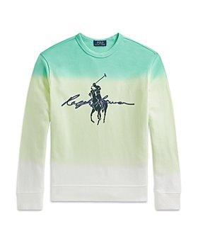 Ralph Lauren - Boys' Ombré Graphic Sweatshirt - Little Kid, Big Kid