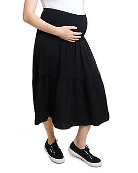 Ingrid & Isabel - Maternity Smocked Pull-On Skirt