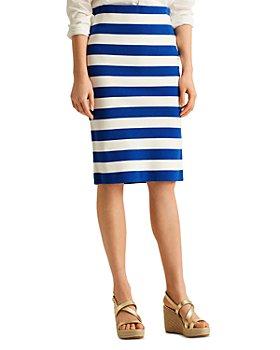 Ralph Lauren - Striped Pencil Skirt
