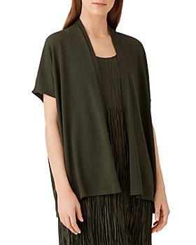 Eileen Fisher - Organic Cotton Boxy Fit Cardigan