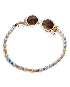 Lele Sadoughi - Faux Pearl Sunglass & Mask Chain