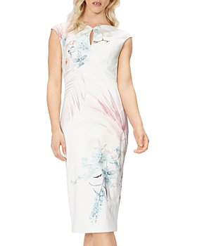 Ted Baker - Serendipity Floral Print Sheath Dress
