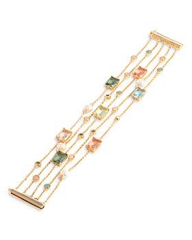 Ralph Lauren - Multi Stone Five Row Bracelet