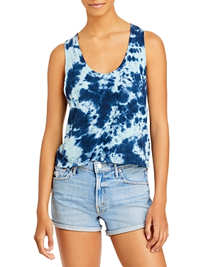 Mother The Breezy Tie Dyed Tank Top