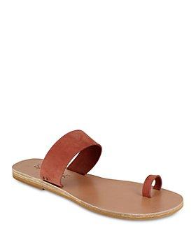 Splendid - Women's Serenity Almond Toe Leather Slide Sandals