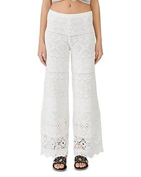 Maje - Ibiza Collection Pantelle Crocheted Pants