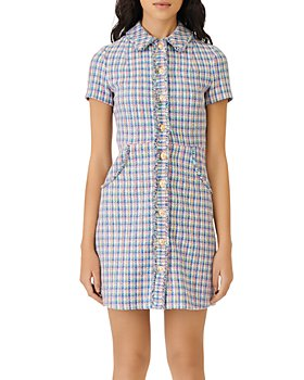 Maje - Renizam Multicolor Tweed Dress