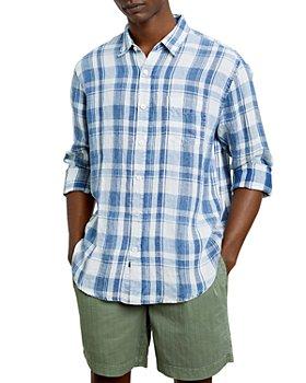 Rails - Havana Linen Plaid Relaxed Fit Button Down Shirt