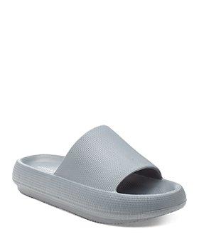 J/Slides - Women's Squeezy Slip On Sandals