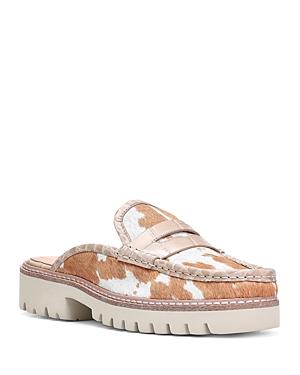 Donald Pliner Women's Hilleeh Slip On Loafer Flats