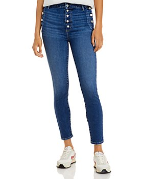 PAIGE - Emmie Skinny Ankle Jeans in Sightseeing - 100% Exclusive
