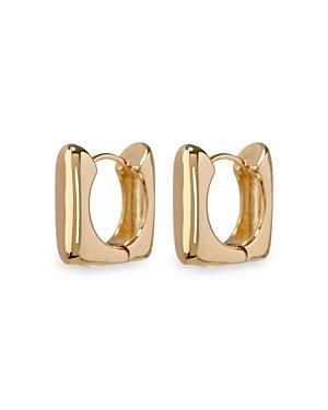 Art Deco Square Hoop Earrings