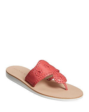 Women's Boating Jack Leather Thong Sandals