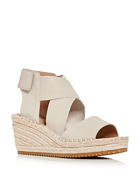 Eileen Fisher - Women's Willow Platform Wedge Espadrille Sandals