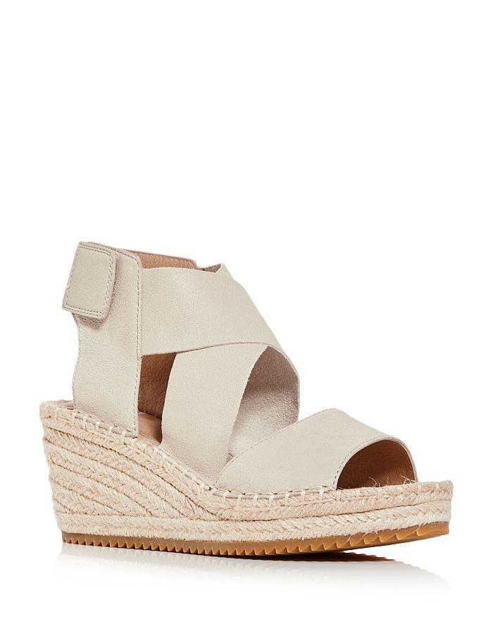 Eileen Fisher - Women's Willow Platform Wedge Espadrille Sandals
