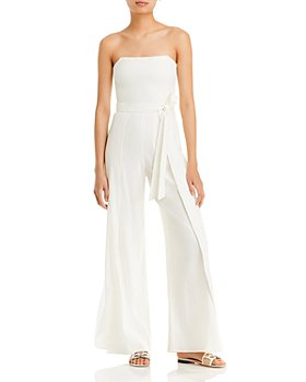 Alice and Olivia - Bebe Smocked Bustier Jumpsuit