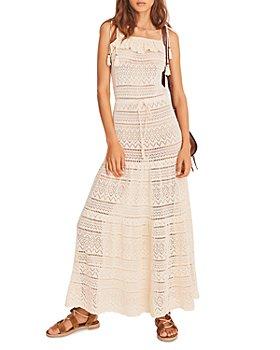 ba&sh - Cal Crochet Lace Maxi Dress
