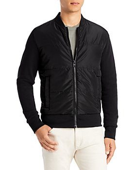 BOSS - Skiles Quilted Front Knit Bomber Jacket