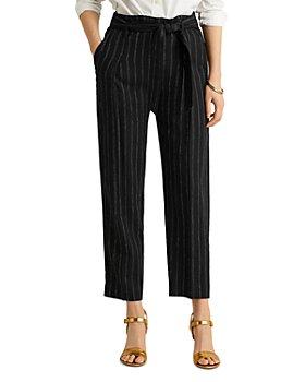 Ralph Lauren - Striped Belted Pants
