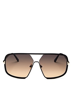 Tom Ford - Women's Warren brow Bar Square Sunglasses, 63mm
