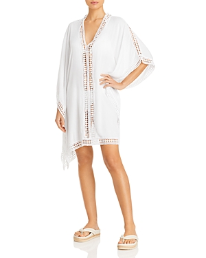 Tommy Bahama Lace Trim Tunic Swim Cover-Up - 100% Exclusive