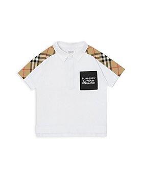 Burberry - Check Trim Polo Shirt - Baby