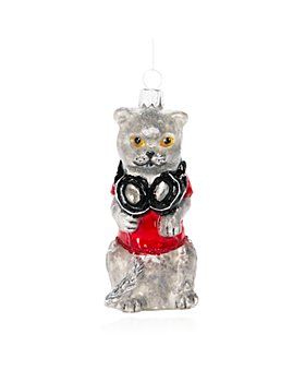 Bloomingdale's - DJ Cat Ornament - 100% Exclusive