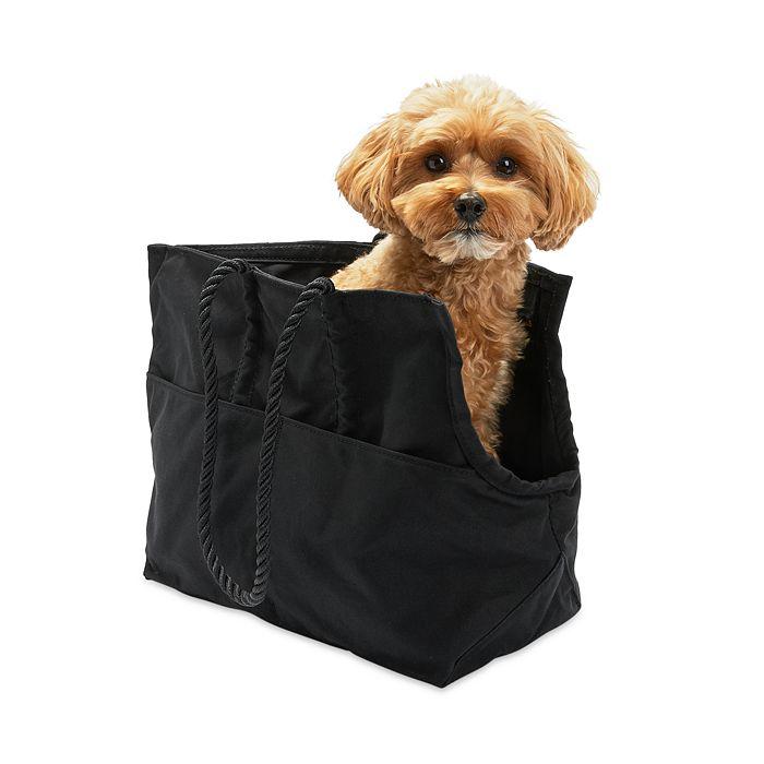 Found My Animal - Found My Animal Black Waxed Cotton Canvas Dog Carrier