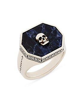 Alexander McQUEEN - Skull Signet Ring