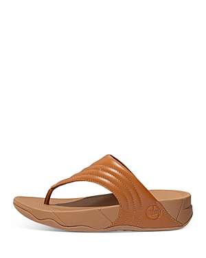 Walkstar Leather Toe Post Sandals