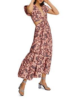 A.L.C. - Alexandria Cutout Waist Maxi Dress