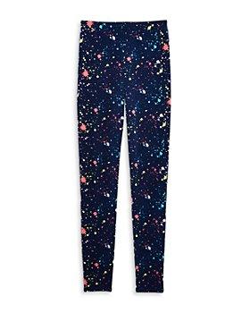 AQUA - Girls' Paint Splatter Leggings, Big Kid - 100% Exclusive