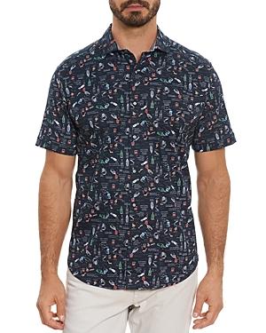 Robert Graham Paisley Classic Fit Short Sleeve Shirt