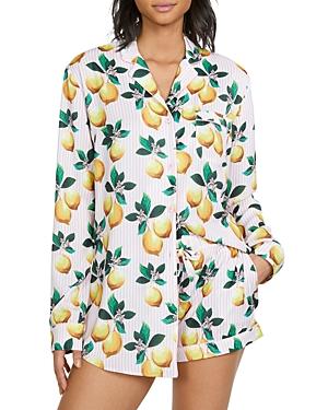 Sophie Lemon Pajama Shorts Set